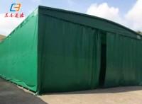 广州白云活动雨棚布 电动雨蓬 折叠仓库帐篷厂家制作工程