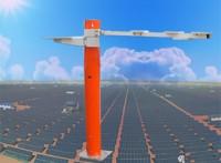 辐射站支架,辐射监测