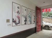 深圳合众全自动壁画机 3d墙体绘画机 墙体广告机