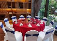 南山宴会桌椅出租中式围餐餐具出租自助餐保温炉出租