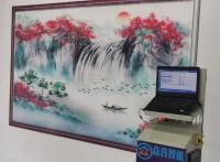 深圳合众爱普生七代喷头墙体高清立式墙面喷绘机