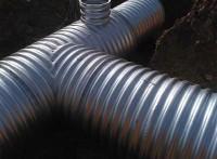 德阳金属波纹涵管钢波纹涵管金属波纹涵管管节薄,重量轻