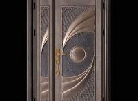 质优价廉 山东铸铝门庭院铝艺大门