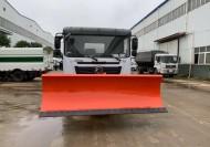 国产除雪设备 东风天锦除雪车 融雪撒布机的行业现状及发展前景