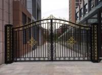 厂家直销铁艺大门庭院大门可来图定制