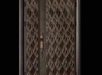 厂家定制别墅中式庭院铸铝门