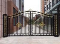 庭院大门各类铁艺大门定制采购批发