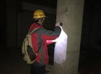 上海某地下室,人防工程質量檢測