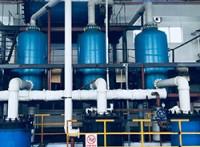 石墨三效蒸发器,石墨蒸发器,废水三效蒸发系统