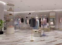 2021服装店铺装修设计,展示柜定制厂家,河盛展柜
