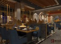 济南现代新中式餐厅装修设计公司