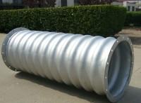 供应镀锌波纹涵洞价格便宜 钢波纹管环形