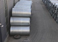圆形波纹钢管批发 热镀锌防腐波纹管涵厂家 直径3米