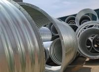 钢波纹管板片搭接 拼装钢波纹管涵热卖