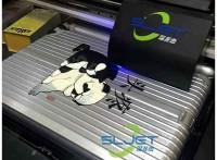 *一次彩印成像的拉杆箱uv打印机,个性定制浮雕手感不掉色