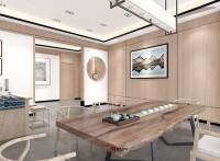淄博公司办公室装修设计--山东舜禾装饰