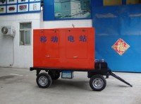 濰柴發電機100千瓦新型移動式供電拖車全自動