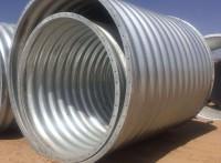鋼波紋管涵,金屬鋼波紋管涵口徑1-8m 板片搭接波紋涵管