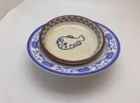 上海小丑魚涼菜碟密胺餐具廠家,瀏陽蒸菜碗仿瓷餐具批發定制