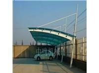 河北 地下車庫入口雨篷鋼梁供應 牛腿雨搭廠家定制 中鳴機械