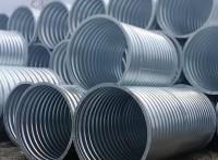 公路金属热镀锌防腐批发甘肃波纹钢管 直径六米波纹钢管
