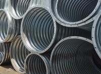 拼裝金屬熱鍍鋅防腐甩賣 法蘭連接波紋鋼管廠價