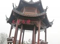 江西文青厂家直供六角凉亭和双层六角凉亭