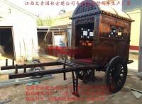 江西文青园林古建厂家直销马车