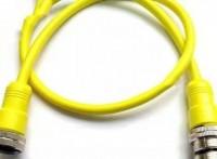 上??朴?/8-3孔式防水插頭 7/8傳感器電纜電源連接器