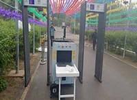 北京紅外測溫門安檢門安檢機安檢儀安檢器租賃