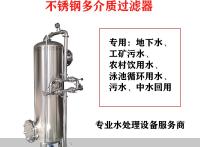 貴港鴻謙 不銹鋼過濾器 錳砂過濾器 支持來圖定制