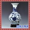 新中式青花陶瓷花瓶摆件美式客厅电视柜工艺品家居饰品