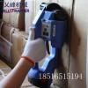 乂峰机械砖厂砖块电动打包机捆扎机博世电池