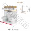 VM005-A馬桶展示架