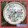 辰天陶瓷  手绘青花大瓷盘  粉彩大瓷盘  定制瓷盘