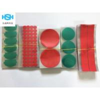 易撕贴红美纹绿色高温胶带 聚酰亚胺胶带各种贴纸模切