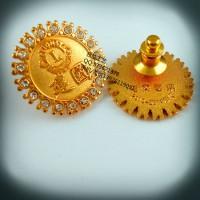 建国周年徽章、金属徽章、纪念徽章、襟章定制