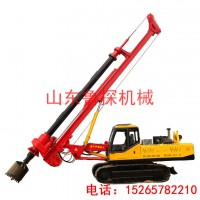 XWDJ-28履带机锁杆旋挖钻机 工程建筑灌注桩加固旋挖钻机
