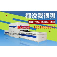 湖北省大冶市高光PVC木皮正负压覆膜机