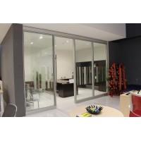 无锡 钢化玻璃隔断 单层双层钢化玻璃墙隔断隔墙