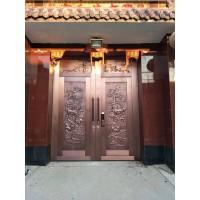 河北铜锦铜门图片及价格仿铜门生产厂家