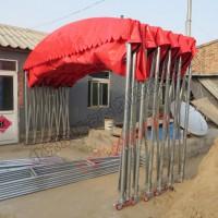 北京工厂定做移动推拉篷大排挡活动帐篷流动餐饮帐篷烧烤篷停车棚