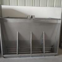 山东硕利   干料料槽 不锈钢双面料槽 304不锈钢