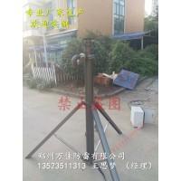 野战手动升降式避雷针6米通信车载升降杆价格郑州万佳厂家定做