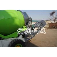 小型混凝土搅拌车建筑工地小型水泥搅拌运输罐车