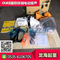 250公斤DUKE迷你環鏈電動葫蘆 優質電動環鏈葫蘆