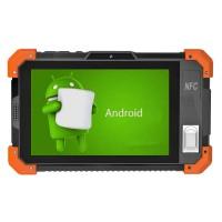 加固计算机安卓6.0支持前置虹膜识别NFC指纹三防平板电脑