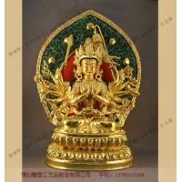 铜雕藏佛_大型铜佛像订做_河北博创铜雕厂
