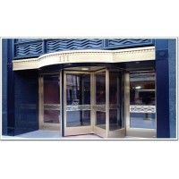 生产厂家供应保养安徽多玛酒店四翼全自动旋转门