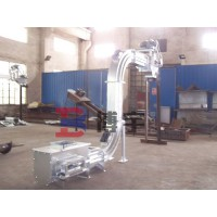 河南博宇蛇形鏈板輸送機-輸送機生產廠家